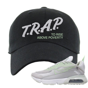 Air Max 2090 'Vast Gray' Dad Hat | Black, Trap To Rise Above Poverty