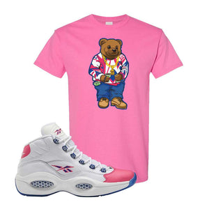 Question Mid Pink Toe T-Shirt | Sweater Bear, Azalea