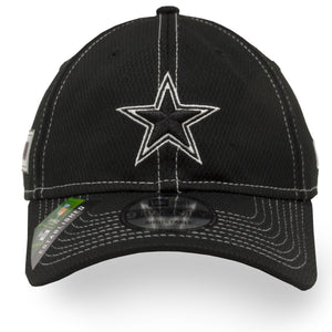 Dallas Cowboys 2019 On-Field Sideline Road Black 9Twenty Dad Hat