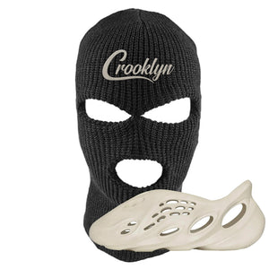 Yeezy Foam Runner Sand Ski Mask | Crooklyn, Black