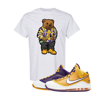 Lebron 7 'Media Day' T Shirt | Ash, Sweater Bear