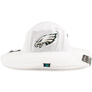 Philadelphia Eagles 2019 Training Camp White Training Boonie Bucket Hat