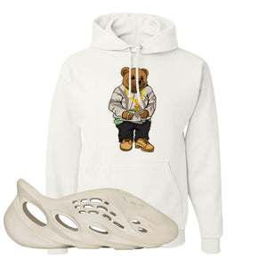 Yeezy Foam Runner Sand Hoodie | Sweater Bear, White