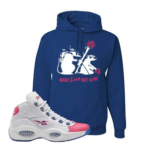 Question Mid Pink Toe Hoodie | Army Rats, Royal