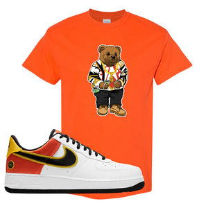 Air Force 1 Low Roswell Rayguns T Shirt | Sweater Bear, Orange