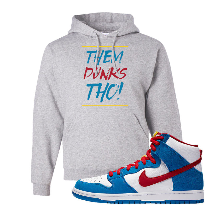 SB Dunk High Doraemon Hoodie | Them Dunks Tho, Ash