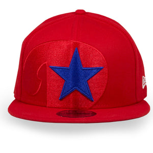 Front of Phillies Snapback With star | Philadelphia  Phillies  Element Red 9Fifty New Era Snapback Hat