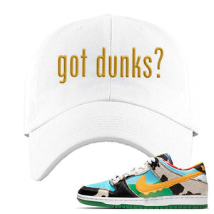 SB Dunk Low 'Chunky Dunky' Dad Hat | White, Got Dunks?