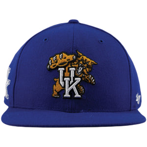 University of Kentucky Wildcats Royal Blue Snapback Hat