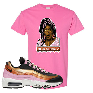 Air Max 95 WMNS Copper and Gold T Shirt | Oh My Goodness, Azalea