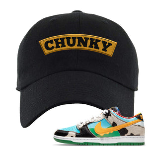 SB Dunk Low 'Chunky Dunky' Dad Hat | Black, Chunky