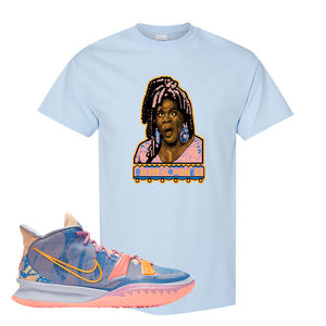 Kyrie 7 Expressions T-Shirt | Oh My Goodness, Light Blue