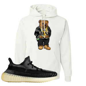 Yeezy Boost 350 v2 Carbon Hoodie | Sweater Bear, White