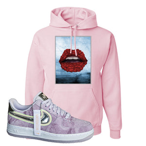 Air Force 1 P[her]spective Hoodie | Classic Pink, Rose Lips