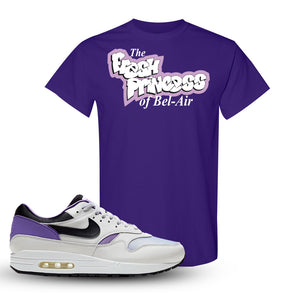 Air Max 1 DNA Series Sneaker Purple T Shirt | Tees to match Nike Air Max 1 DNA Series Shoes | Fresh Princes Of Bel Air