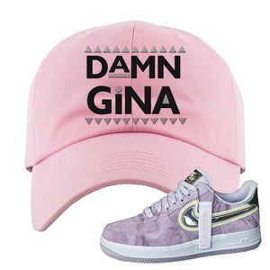 Air Force 1 P[her]spective Dad Hat | Pink, Damn Gina