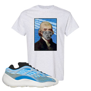 Yeezy 700 v3 Azareth T Shirt | Ash, Jefferson Mask