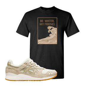 GEL-Lyte III 'Monozukuri Pack' T Shirt | Black, Be Water My Friend Wave