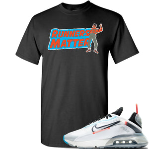 Air Max 2090 Pure Platinum T Shirt | Runners Matter, Black
