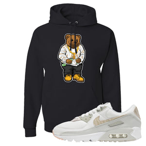 Air Max 90 Zebra Snakeskin Hoodie | Sweater Bear, Black