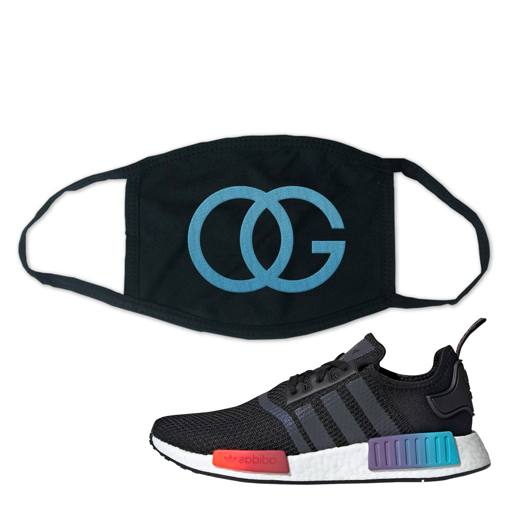 Nmd R1 Gradient Face Mask Black Og Cap Swag
