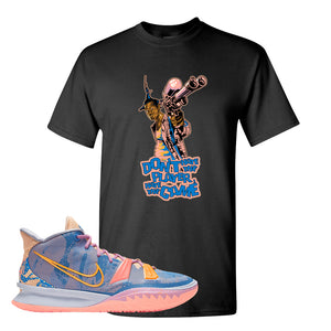 Kyrie 7 Expressions T-Shirt | Dont Hate The Playa, Black