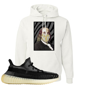 Yeezy Boost 350 v2 Carbon Hoodie | Franklin Mask, White