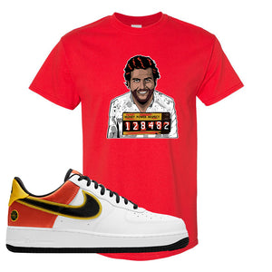 Air Force 1 Low Roswell Rayguns T Shirt | Escobar Illustration, Red
