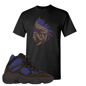 Yeezy 500 High Tyrian T Shirt | Black, Indian Chief