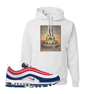 Air Max 97 USA Hoodie | White, Capitalism Pyramid