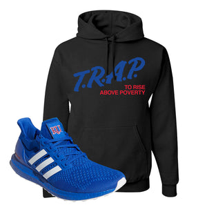 Ultra Boost 1.0 Kansas Hoodie | Trap To Rise Above Poverty, Black