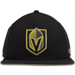 Las Vegas Golden Knights Black Adjustable Snapback Hat