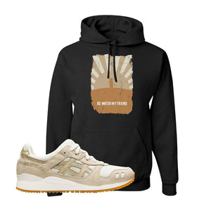 GEL-Lyte III 'Monozukuri Pack' Hoodie | Black, Be Water My Friend Samurai