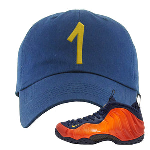 Foamposite One OKC Dad Hat | Navy Blue, Penny One