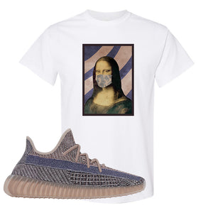 Yeezy Boost 350 V2 Fade T-Shirt | Mona Lisa Mask, White