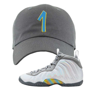 Lil Posite One Rainbow Pixel Dad Hat | Dark Gray, Penny One