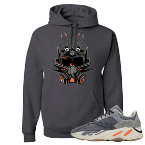 Yeezy Boost 700 Magnet Sneaker Mask Charcoal Sneaker Matching Pullover Hoodie