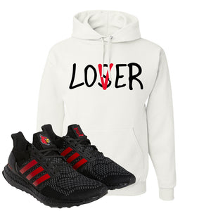 Ultra Boost 1.0 Louisville Hoodie | Lover, White