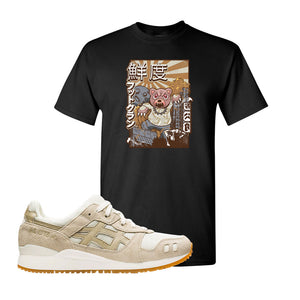 GEL-Lyte III 'Monozukuri Pack' T Shirt | Black, Attack Of The Bear