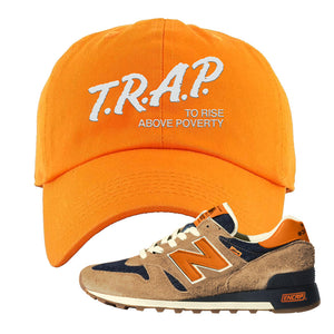 Levi's x New Balance 1300 Dad Hat | Orange, Trap to Rise