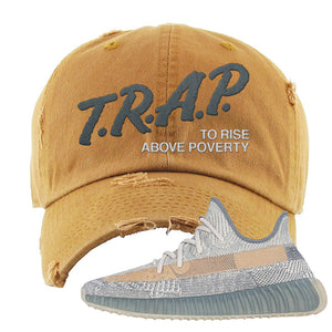 Yeezy Boost 350 V2 Israfil Distressed Dad Hat | Timber, Trap To Rise Above Poverty