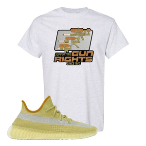 Yeezy Boost 350 V2 Marsh Water Soaker Ash T-Shirt To Match Sneakers