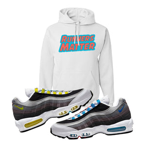 Air Max 95 QS Greedy Hoodie | White, Runners Matter