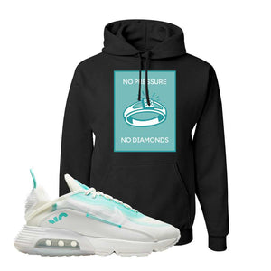 Air Max 2090 Pristine Green Hoodie | Black, No Pressure No Diamond