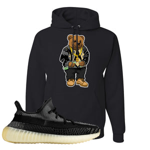 Yeezy Boost 350 v2 Carbon Hoodie | Sweater Bear, Black