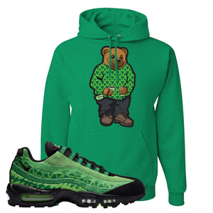 Air Max 95 Naija Hoodie | Sweater Bear, Kelly Green