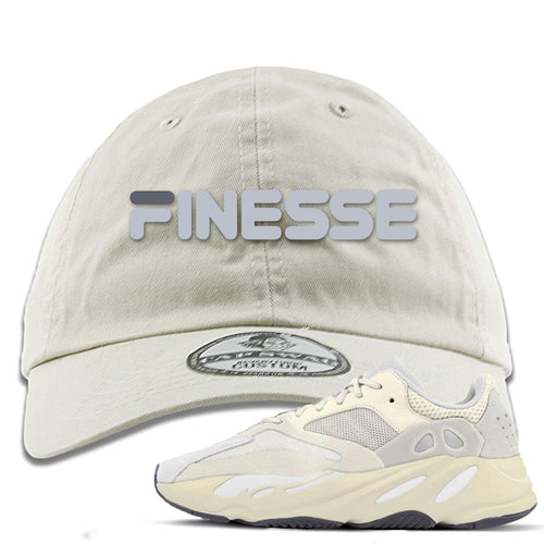 Yeezy Boost 700 Analog Sneaker Match Finesse Ivory Dad Hat