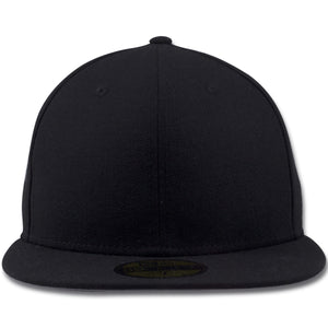 New Era Blank 59Fifty Black Fitted Cap