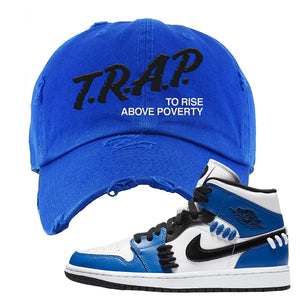 "Air Jordan 1 Mid ""Sisterhood"" Distressed Dad Hat 