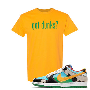 SB Dunk Low 'Chunky Dunky' T Shirt | Gold, Got Dunks?